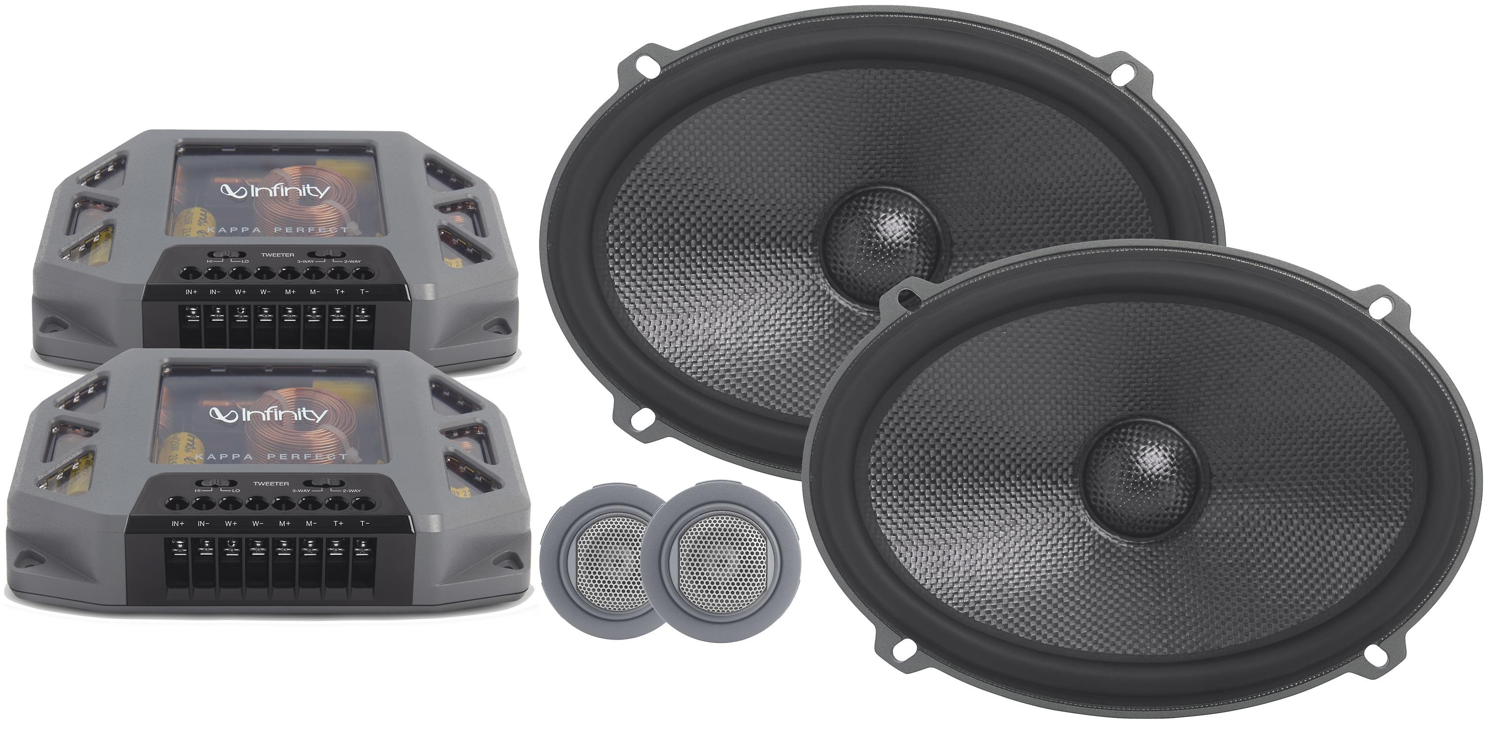 Infinity Perfect 900 Top 6x9 Component Speakers System