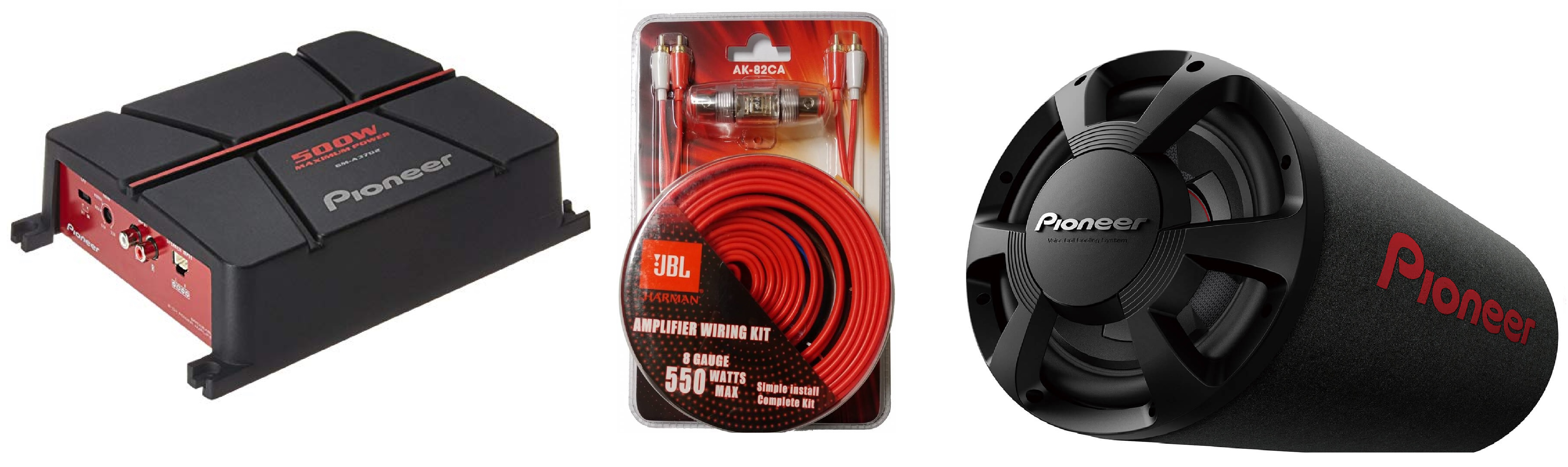 Awesome Pioneer Ts Wx306T Tube Gm A3702 Amp Wiring Kit Package Wiring Cloud Pimpapsuggs Outletorg